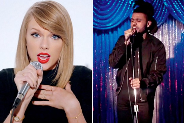 Taylor Swift The Weeknd