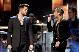 """Adam Lambert & Leona Lewis Perform """"Girl Crush"""" At CMT Artists Of The Year: Watch"""