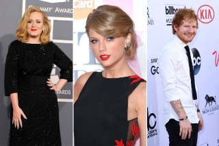 Adele, Taylor Swift & Ed Sheeran Score 2015 BBC Music Awards Nominations