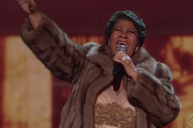 aretha franklin kennedy center 2015