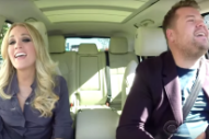 "Carrie Underwood & James Corden Sing Wham!'s ""Wake Me Up Before You Go-Go"" For ""Carpool Karaoke"": Watch"