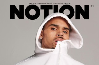 Chris Brown Covers 'Notion' Magazine's 71 Issue, Talks 'Royalty' LP: View Photos