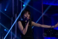 "Watch Chvrches Perform ""Clearest Blue"" On 'Late Late Show'"