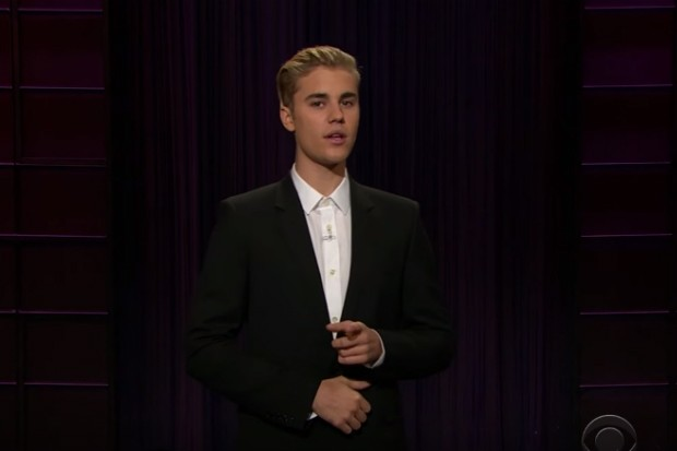 justin bieber james corden late late show monologue