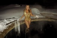 Mariah Carey Braves The Cold For Golden Thirst Trap: Morning Mix