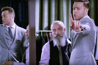 "Olly Murs' ""Stevie Knows"" Video Is Filled With Sharp Suits & Sexy Models: Watch"