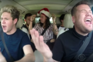 James Corden Enlists Justin Bieber, One Direction & More For The Christmas Edition Of Carpool Karaoke: Watch
