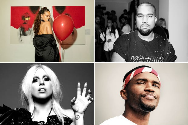 rihanna-kanye-west-lady-gaga-frank-ocean-2016-anticipated-albums-split