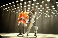 Kanye West Hits The Studio With Andre 3000, 2 Chainz And Kid Cudi
