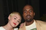"Kanye West & Miley Cyrus' ""Black Skinhead"" Remix Surfaces: Listen"