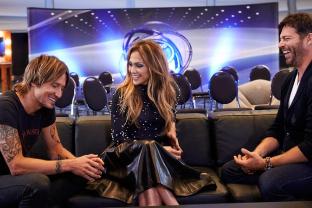 American Idol 2016 Season 14 Jennifer Lopez Harry Connick Jr Keith Urban