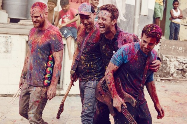 Coldplay 2015 Head Full Of Dreams