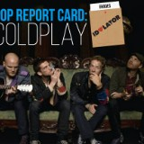 Coldplay's Pop Report Card