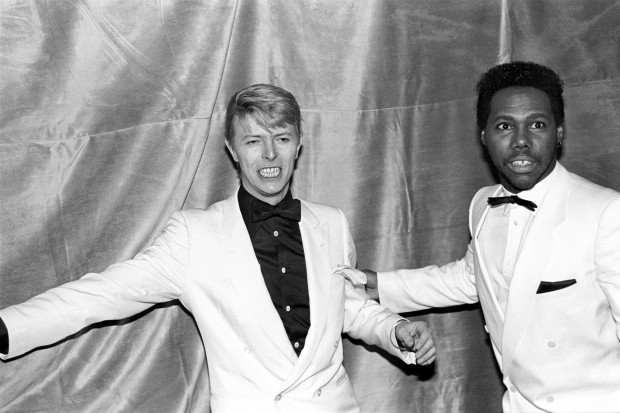 David Bowie Nile Rodgers Chic 1983 Let's Dance