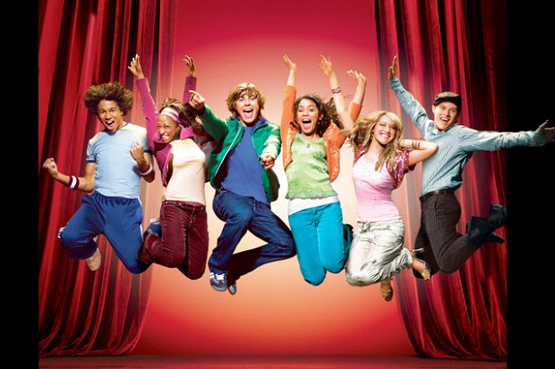 High School Musical cast 2006 first movie Disney Channel Zac Efron Vanessa Hudgens Ashley Tisdale Monique Coleman Corbin Bleu Lucas Grabeel