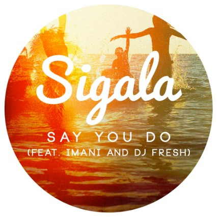Sigala featuring Imani and DJ Fresh - Say You Do (studio acapella)