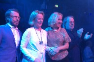 ABBA Reunites At Opening Of 'Mamma Mia!'-Themed Restaurant In Sweden