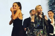 Madonna Spanks Ariana Grande During Her Rebel Heart Concert In Miami: Watch