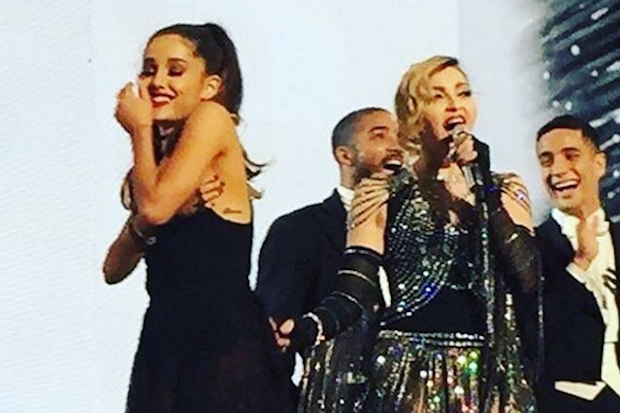 ariana-grande-madonna-rebel-heart-tour