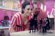 "Fall Out Boy & Demi Lovato Pay Homage To *NSYNC In ""Irresistible"" Video: Watch"