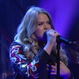 """Grace Nails """"You Don't Own Me"""" On 'Colbert'"""