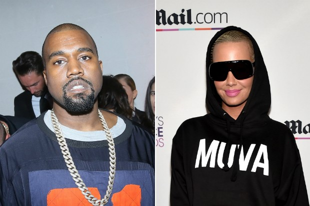 kanye west amber rose feud beef butt