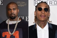 Kanye West Just Ethered Wiz Khalifa On Twitter