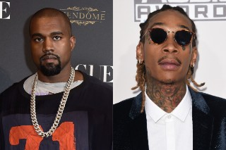 "Wiz Khalifa Claps Back With ""F**k Kanye"" At Concert: Watch"