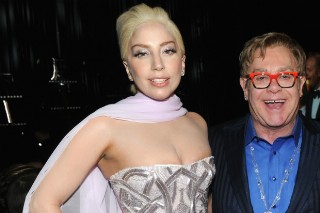 Lady Gaga & Elton John Team Up On Clothing Line, For All Your Circus Formal Fashion Needs
