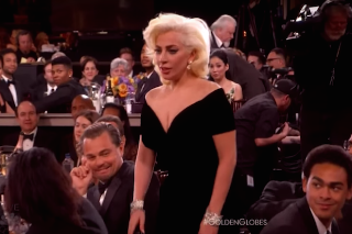 Leonardo DiCaprio Explains His Viral Reaction To Lady Gaga At The 2016 Golden Globes: Watch