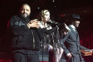Madonna Brings Out DJ Khaled In Miami: Watch