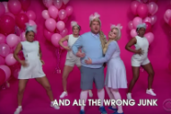 """Meghan Trainor Is """"All About That Change"""" For The New Year: Watch Her 'Corden' Parody"""