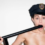 Miley Cyrus Fellates A Nightstick In A New Pic From NSF...