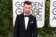 "Sam Smith's ""Writing's On The Wall"" Wins Best Original Song At The 2016 Golden Globes"