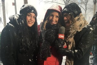 Steven Tyler Crashes CNN Live Broadcast Of Winter Storm Jonas: Morning Mix