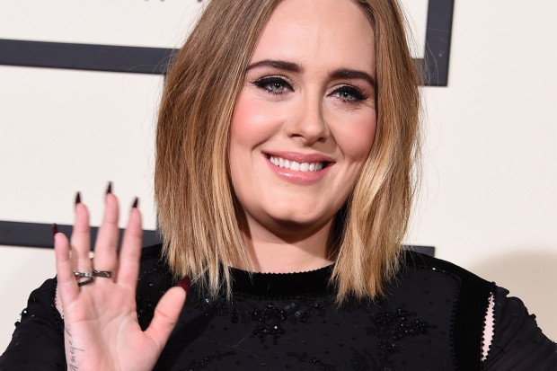 Adele Attends 2016 Grammy Awards