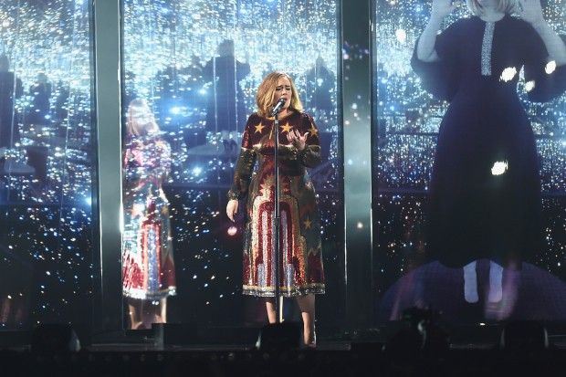 Adele brit awards brits 2016