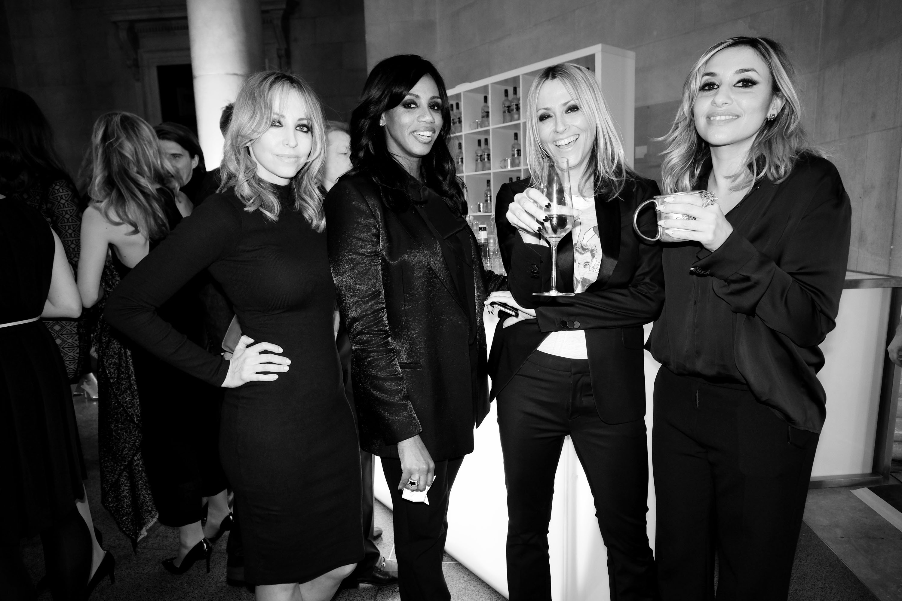 All Saints One Strike A Pose At Elle Style Awards 2016