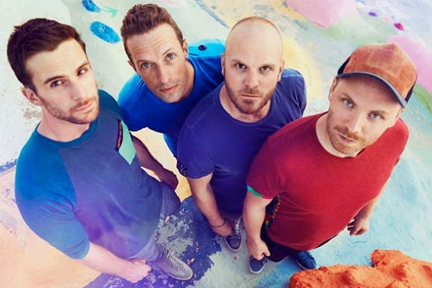 Coldplay colorful