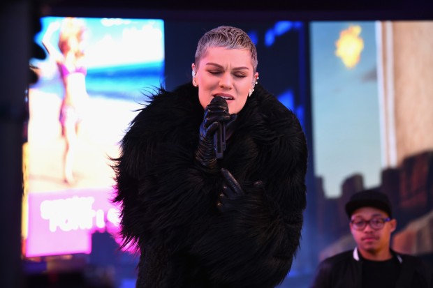 jessie j New Year's Eve 2016 In Times Square