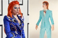 Grammy Awards 2016: Lady Gaga Channels David Bowie On The Red Carpet