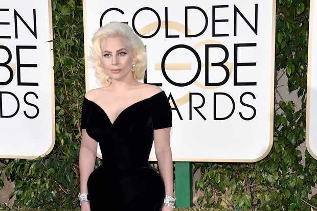 Lady Gaga Golden Globes 2016