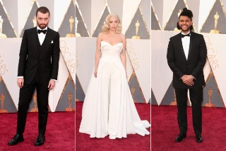 Academy Awards 2016: Lady Gaga, The Weeknd, Sam Smith & Diane Warren On The Red Carpet