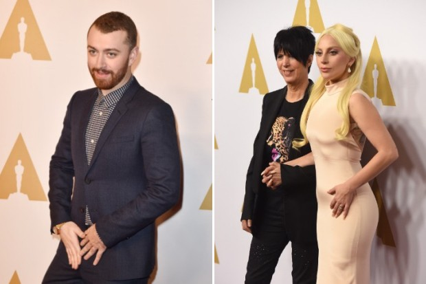 Sam Smith Diane Warren Lady Gaga Academy Awards
