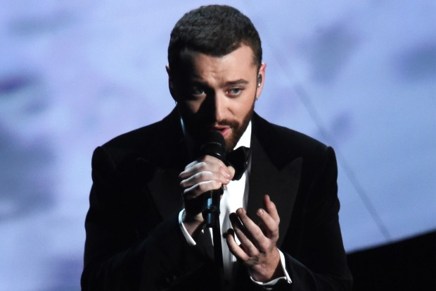 Sam Smith Spectre Academy Awards 2016