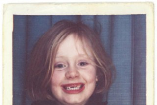 "Adele Reveals Adorable, Literal ""When We Were Young"" Single Cover Art"