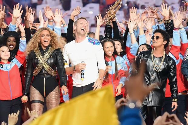 Pepsi Super Bowl 50 Halftime Show - Coldplay, Bruno Mars, Beyonce