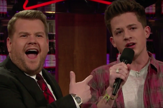 "Watch Charlie Puth Beatbox ""Drop It Like It's Hot"" On 'Late Late Show'"