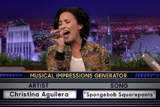 Demi Lovato Does Impressions Of Cher, Fetty Wap And Christina Aguilera: Watch