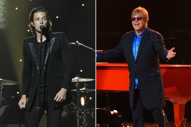 elton john brandon flowers the killers